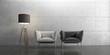 Leinwanddruck Bild - Interior, Wohnen, Design, Einrichtung, Möbel