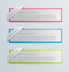 Modern inforgraphic template for websites, banners, business
