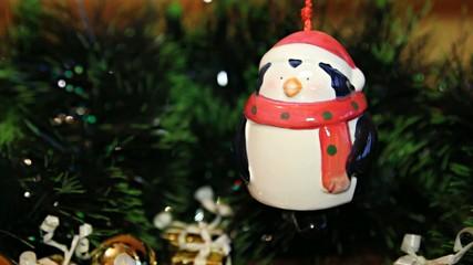 Christmas bell penguin