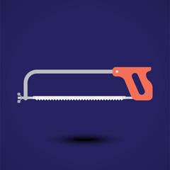 Illustration of a cutting saw