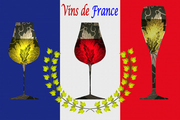 Grand vins de FRANCE - Label - Lauréat