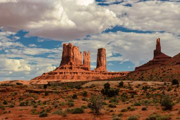 Monuments, Monument Valley, Arizona.