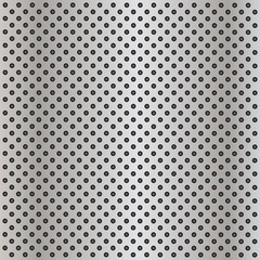 Metal perforated texture background