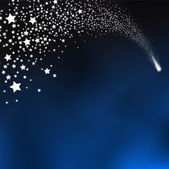 Sternschnuppe, Schnuppe, Komet, Glücksstern, Wunsch, Schweif
