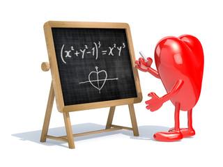 heart love math formula