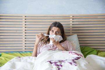 provarsi la febbre
