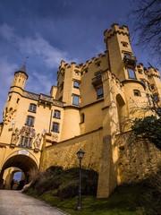 Schlosstor zu Hohenschwangau in Bayern
