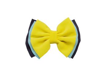 yellow bow,Hair clip