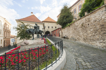 St George and the Dragon Statue; Zagreb; Croatia