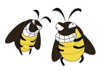 funny cockroach gang mad cartoon