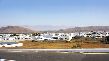 Panorámica de Tahiche en Lanzarote, Islas Canarias