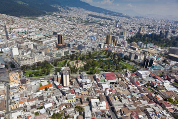 Quito , Parque La Alameda