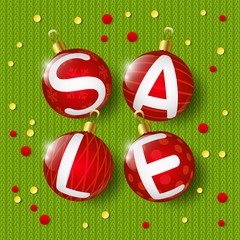 Xmas sale concept for Your design