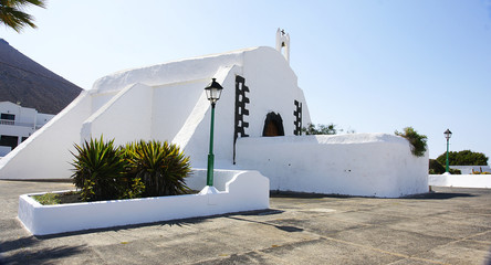Iglsia de Tahiche, Lanzarote, Islas Canarias