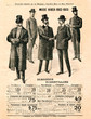 Mode homme - hiver 1902/1903