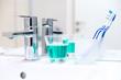 Leinwanddruck Bild - Zahnhygiene