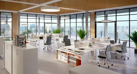 Loftbüro in Hochhaus - amazing office in the sky