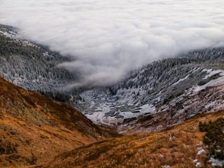 Winter inversion