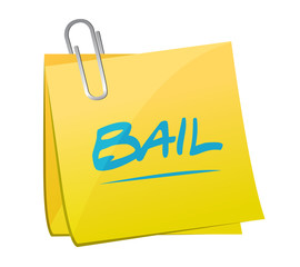 bail memo post illustration design