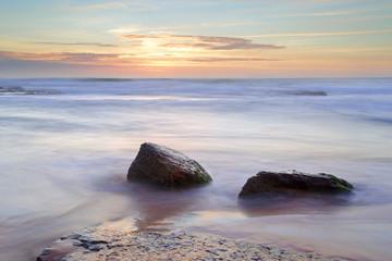 Morning light over the ocean at Bungan Beach Newport