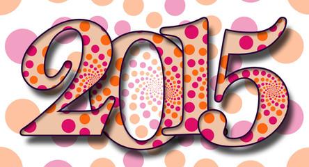 2015 Dots Pattern