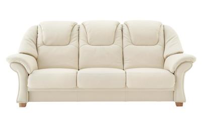 Light beige sofa.