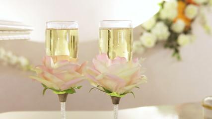 Champagnes bubbles