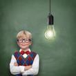 Schoolchild with Ideas