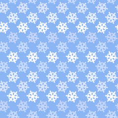 Vector Color abstract snowflake pattern