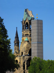 The Church in memory of Kaiser Wilhelm