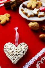 Christmas baking and christmas decoration