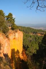 Les carrières d'ocre de Roussillon, France