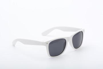 Gafas de sol de color blanco