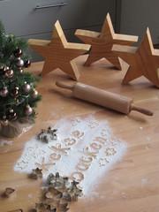 weihnachtsplätzchen backen