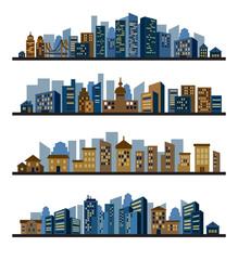 cities silhouette