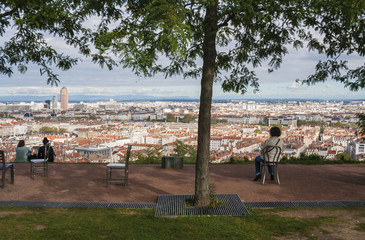 Панорама Лиона Франция