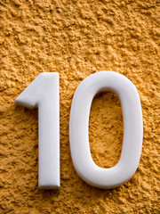 number ten (3)