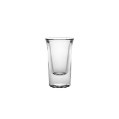 Glass isolated on a white background in high resolution
