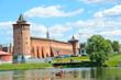 Коломенский кремль со стороны реки Коломенки. Маринкина башня