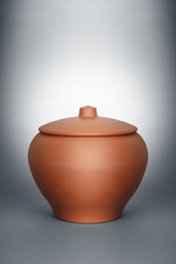 ceramic clay pot
