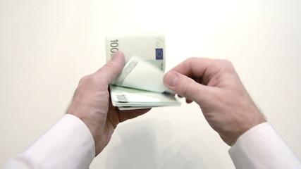 recalculation of euro hands