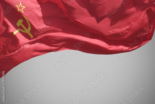 The flag . - 74597193