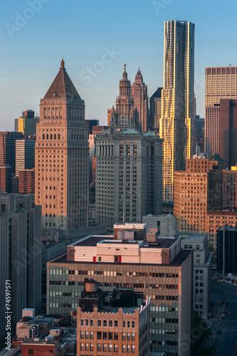 new york skyline  photo - 74597571