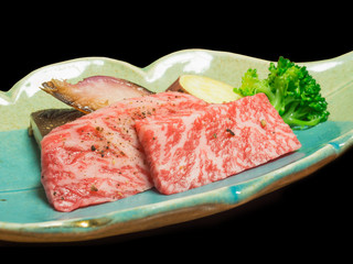 Tajima beef is high quality beef