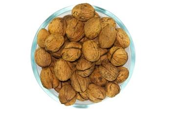 Bowl of nutes closeup