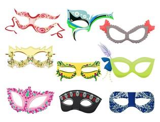 Women's carnival masks