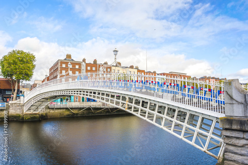 Poster Ha penny Bridge in Dublin