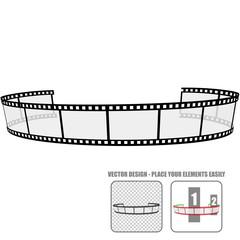 Vector Film Roll #3