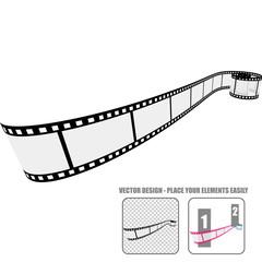 Vector Film Roll #4