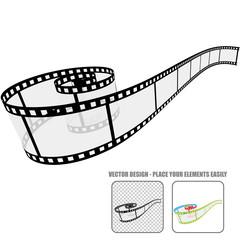 Vector Film Roll #5